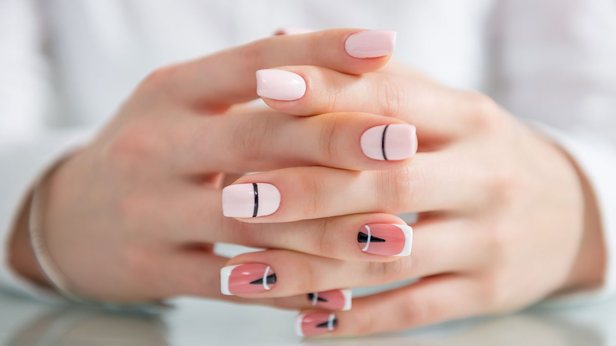 The Geometric Nail Art You Need To Try For Your Next Manicure