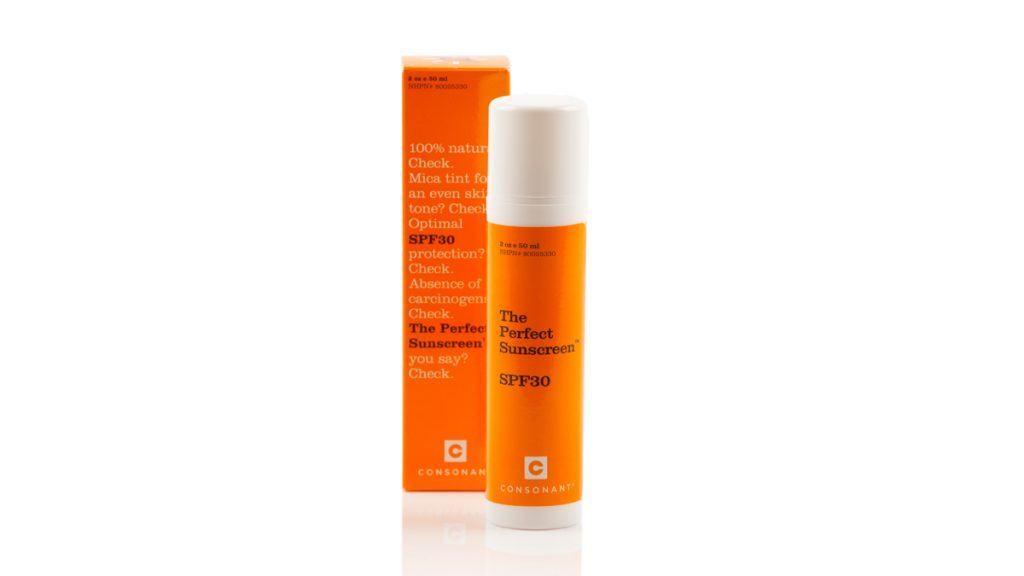 the perfect sunscreen mineral sunscreen by consonant
