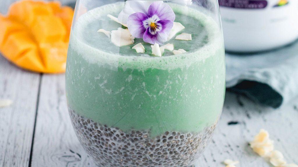 Berry Chia Pudding, Genuine Health