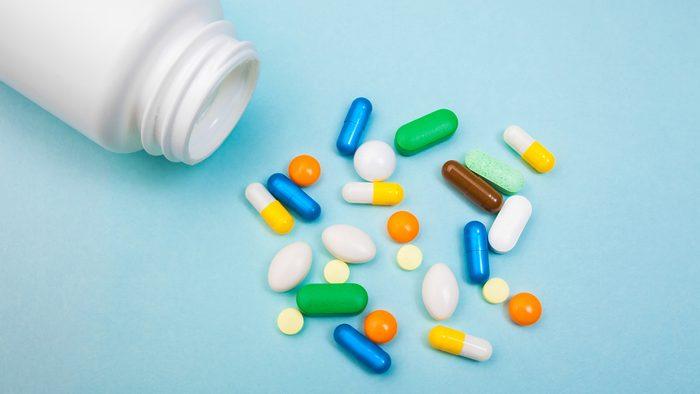 medications pills supplements IBS diet plan