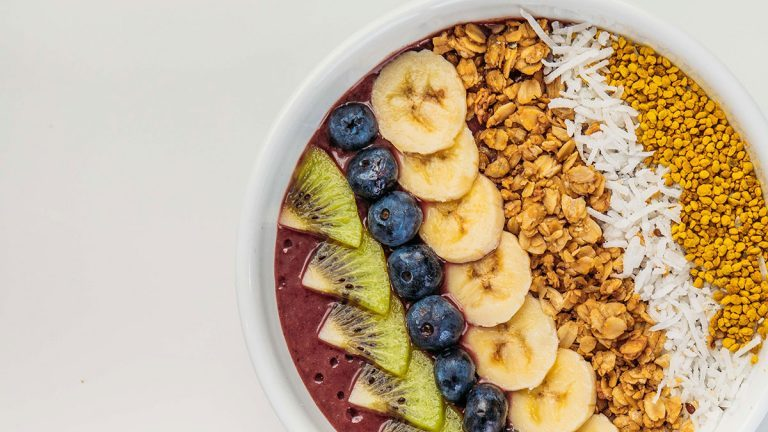 Berry Smoothie Bowl, Buss Bowl