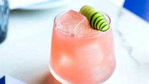 This Boozy Watermelon Punch Cocktail Will Make Dock Days Even Better