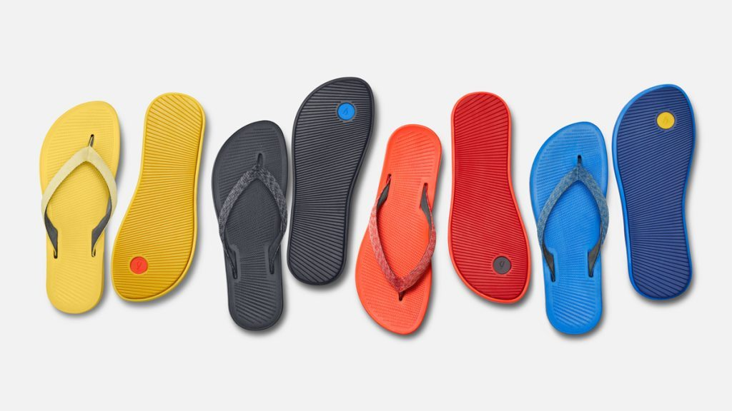 allbirds sweetfoam flip flops