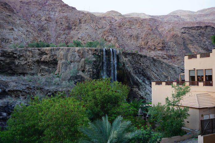desert travel destinations jordan ma'in hot springs