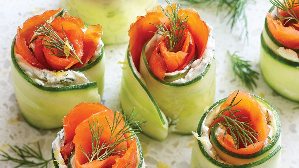 fridge-friendly recipes | Smoked-Salmon-Appetizers