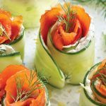 These Smoked Salmon-Stuffed Cucumber Rolls Are Worth Hosting Brunch For
