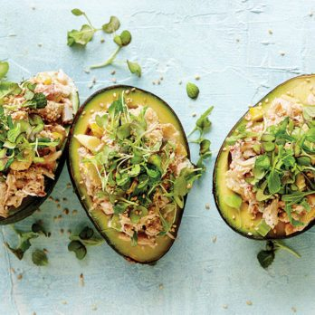 This Stuffed Avocado Recipe Will Make You Fall in Love with Crab Again