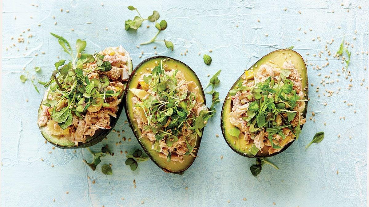 Stuffed-Avocados