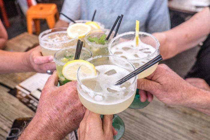 plastic straws drinking alcohol