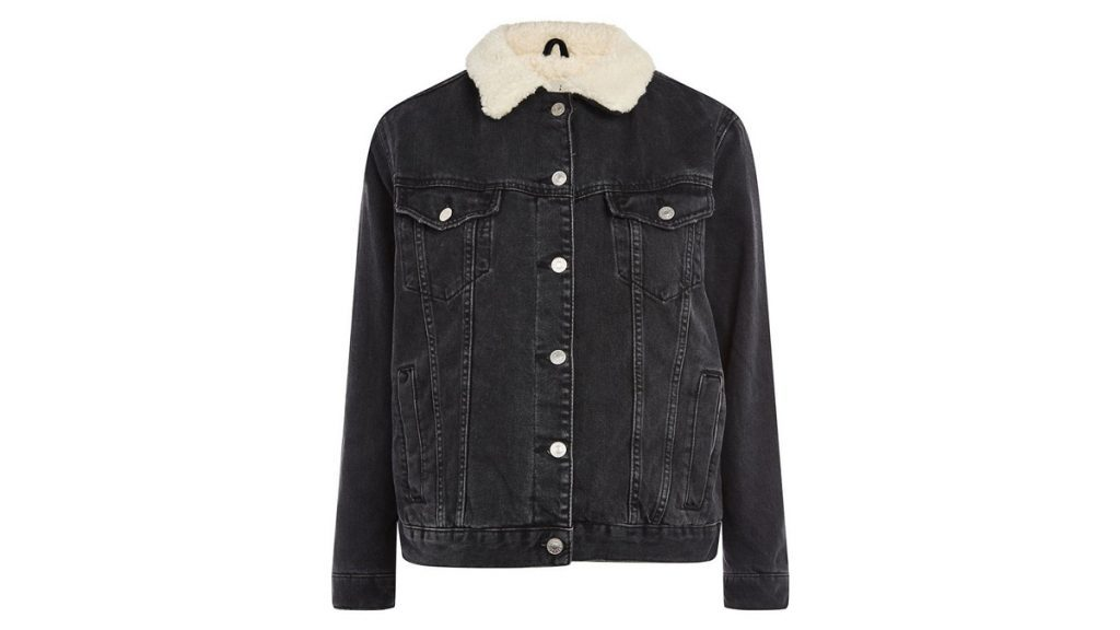 topshop light jacket