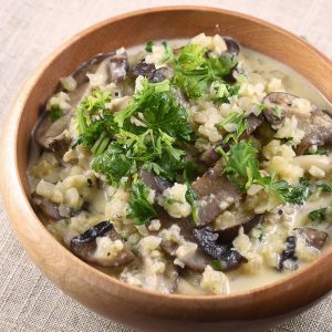 White Truffle Risotto with Cauliflower