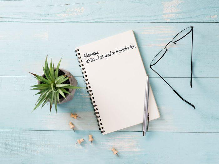 gratitude journal template book