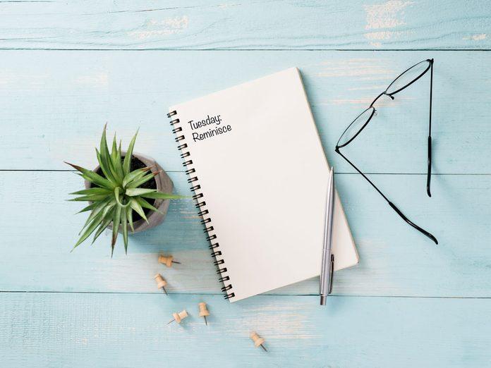 gratitude journal template