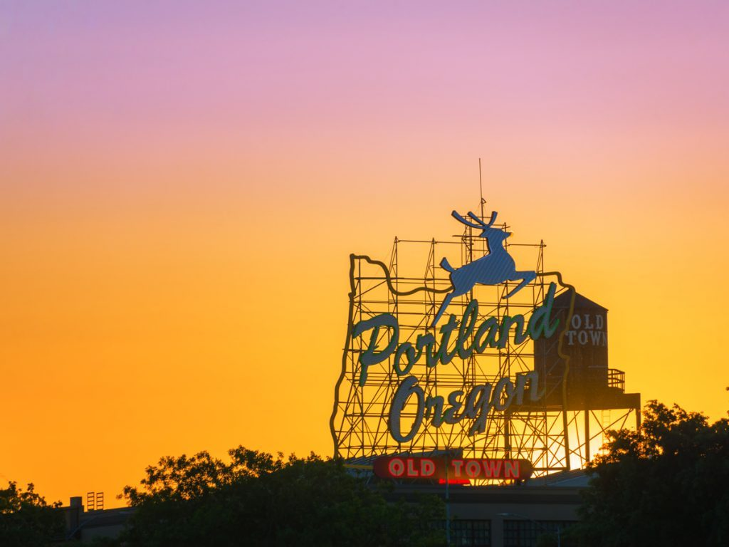 Portland Oregon wellness travel city
