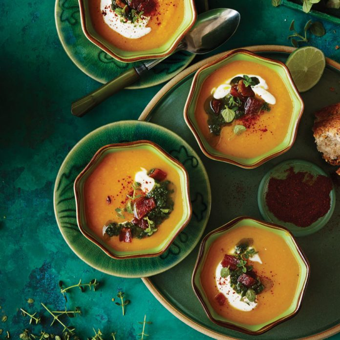 Make This Split Pea, Bacon and Butternut Soup For A Warming Fall Meal