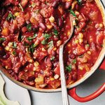 The Freshest Vegetable Chili For Your Next Potluck