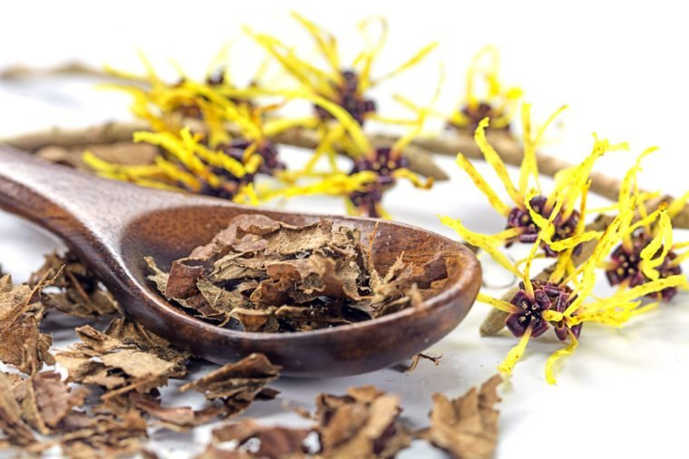 Home Remedies, witch hazel