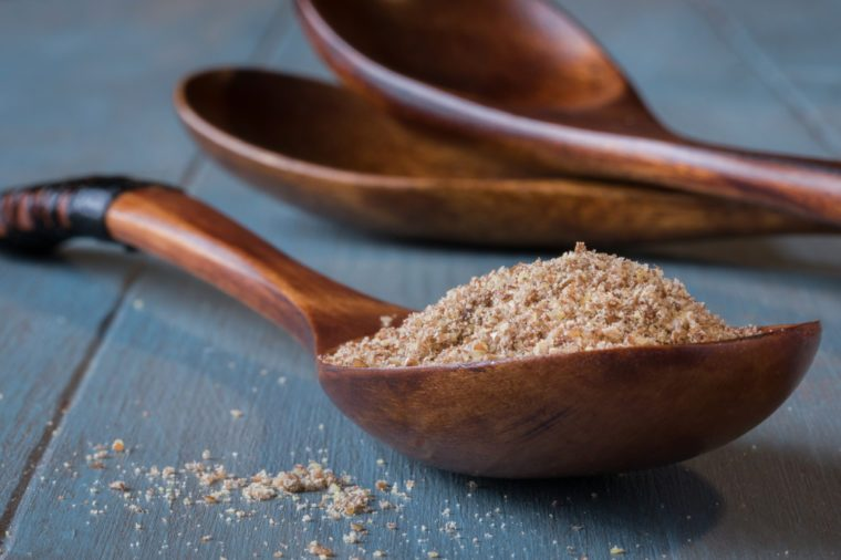 Home Remedies, ground flaxseed