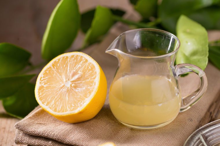 Home Remedies, lemon juice