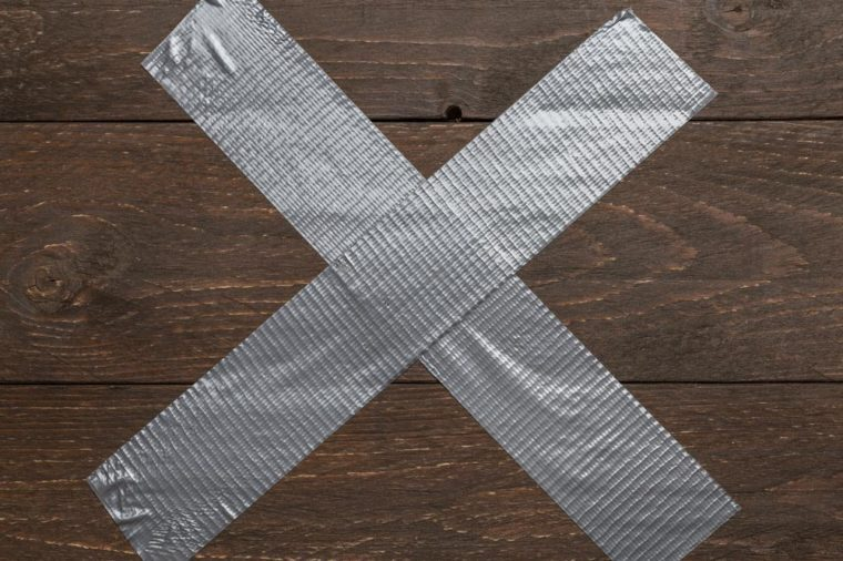 Home Remedies, duct tape