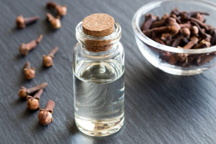 Home Remedies, clove oil