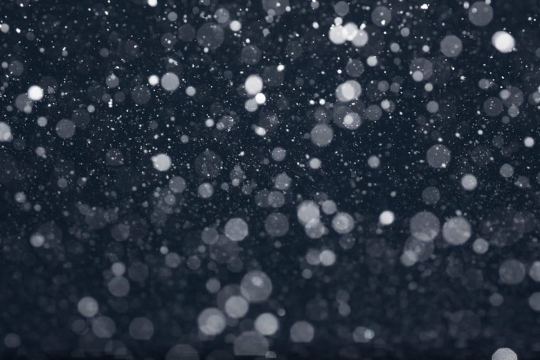 Snow Falling from Night Sky, Tilt Effect