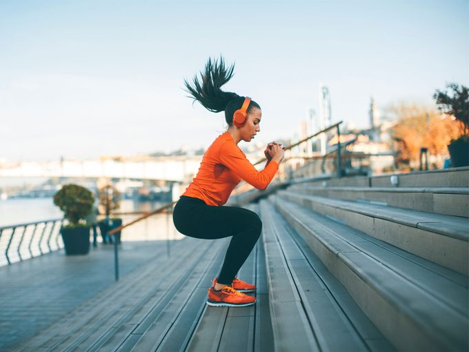 Exercise Addiction, woman working out