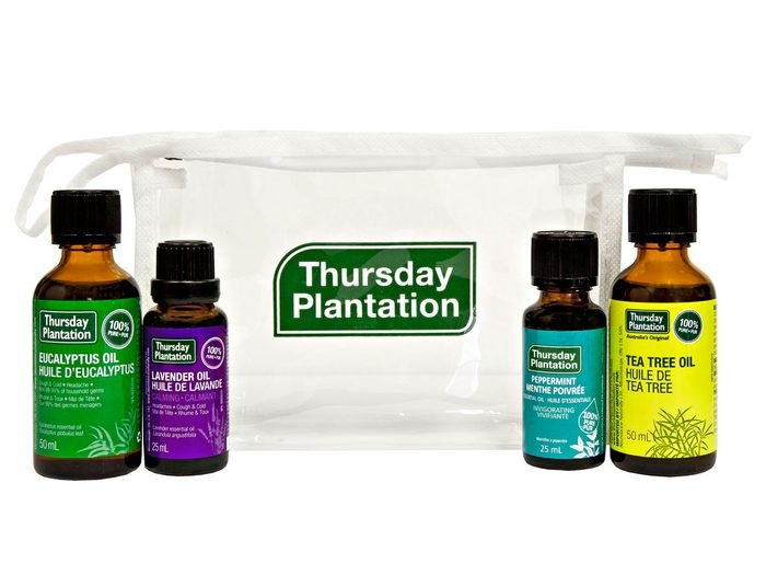 packaged essential oil