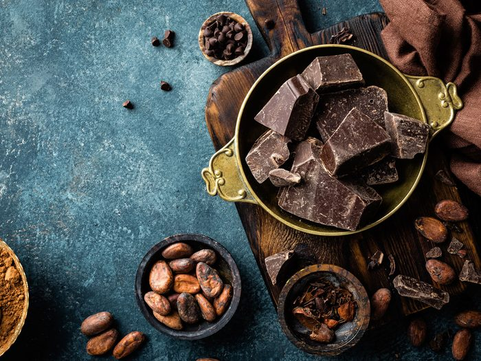 chocolate probiotic foods and drinks