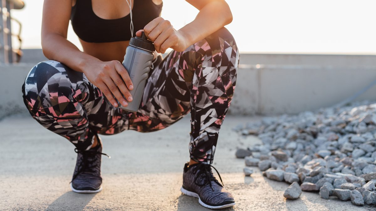 My Sweaty Workout Leggings Gave Me a Skin Infection