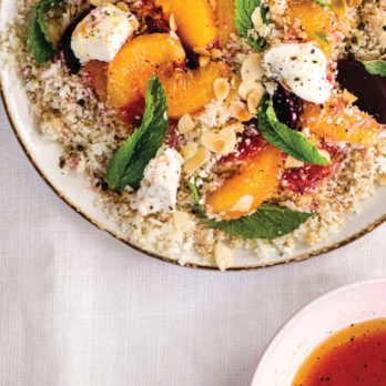 An Elegant Side: Brown Butter & Orange Cauli-Couscous Salad