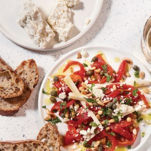 Amp Up Your Party Game By Making This Roasted Red Pepper Delicacy