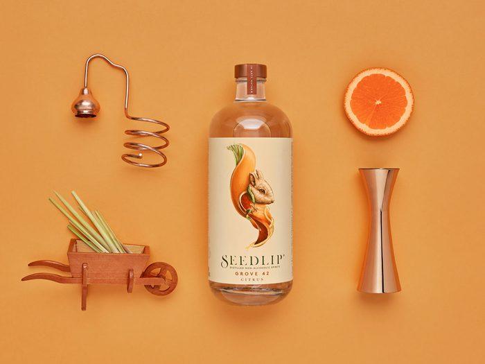 Seedlip cocktail spirits