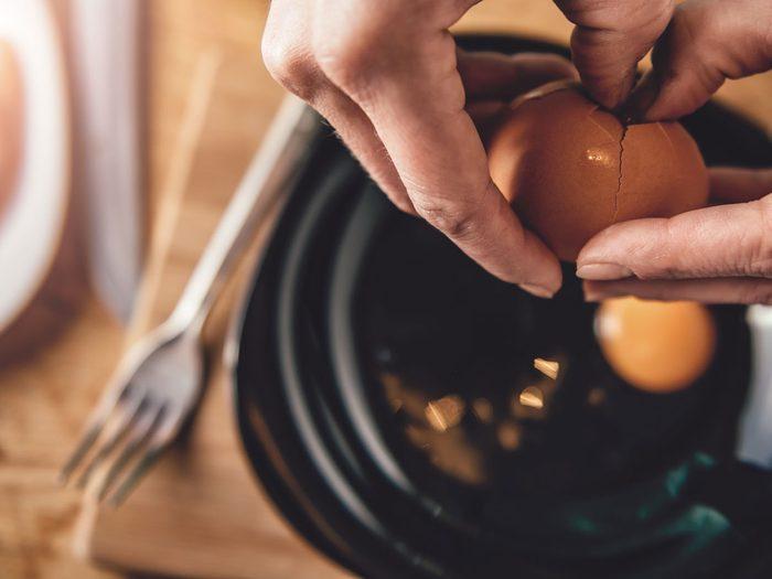 Leftovers, eggs