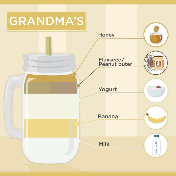 grandmas smoothie