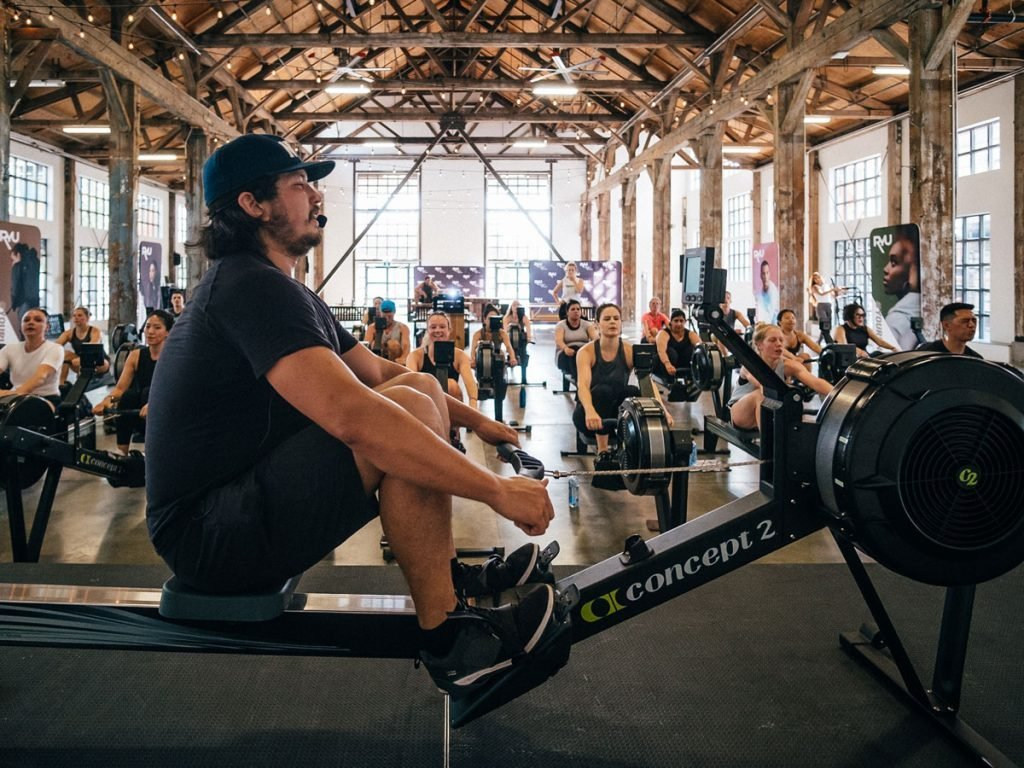 indoor rowing at Club Row