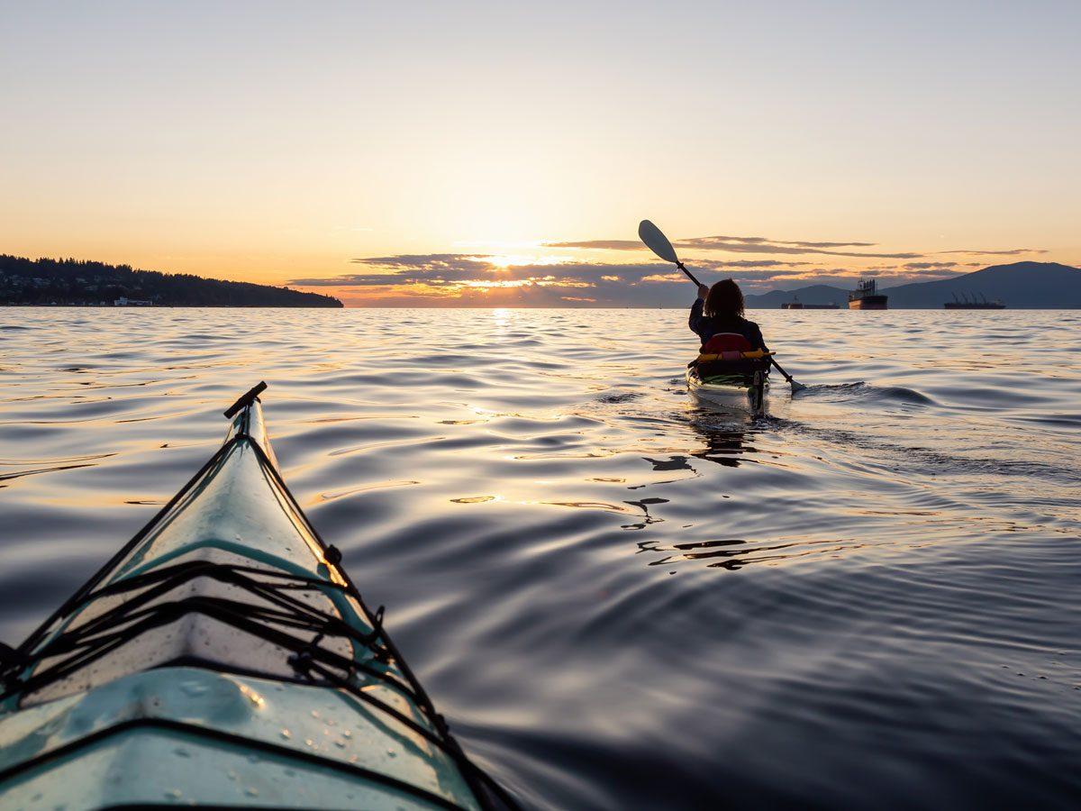 Ontario lake canoe kayak