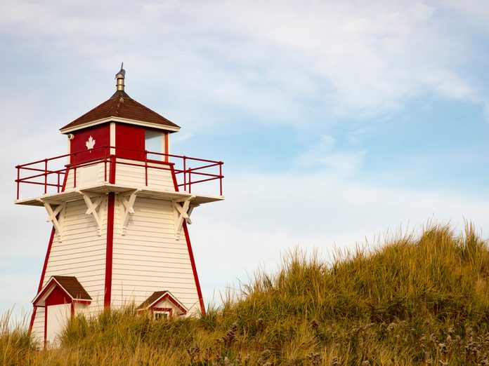 lighthouse in prince edward island