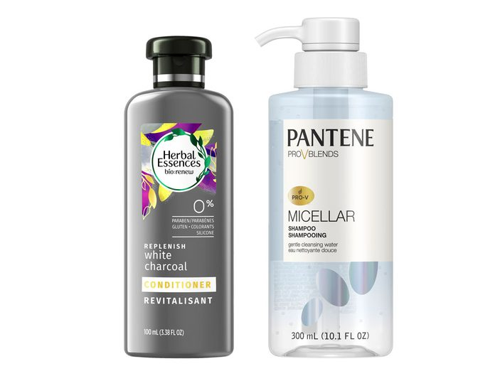 Herbal Essences and Pantene Pro-V