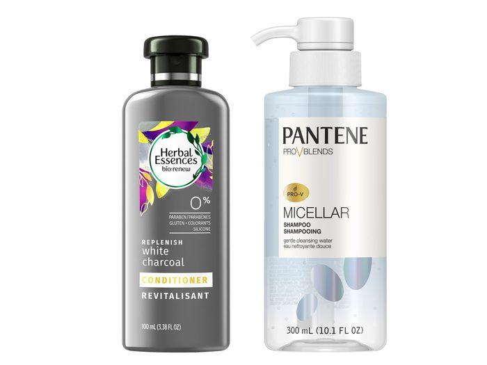 Herbal Essences and Pantene Pro-V