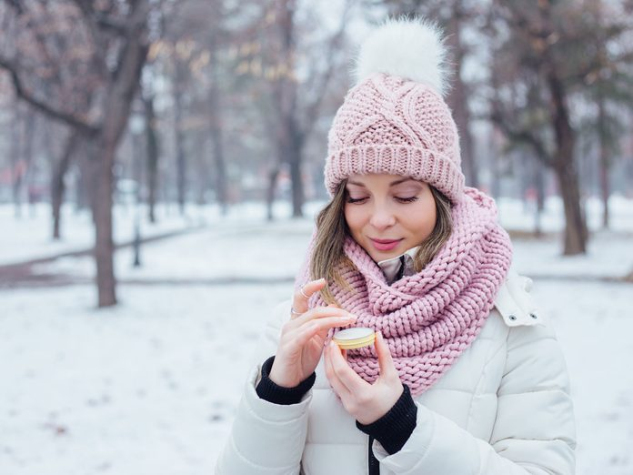 winter hair and skin care