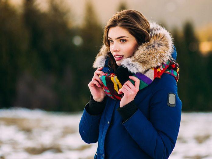 winter skin hair beauty