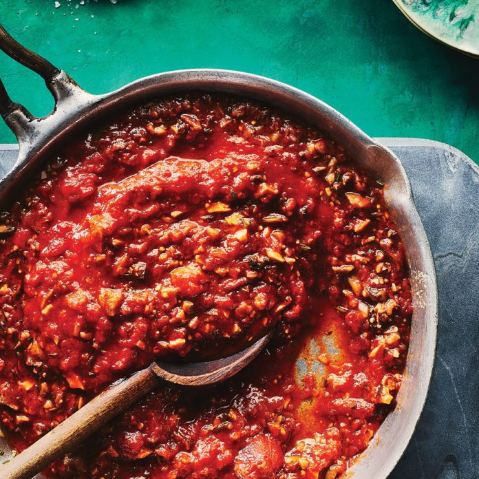 A Traditional Bolognese Sauce Without the Meat