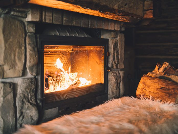 indoor air pollution fireplace