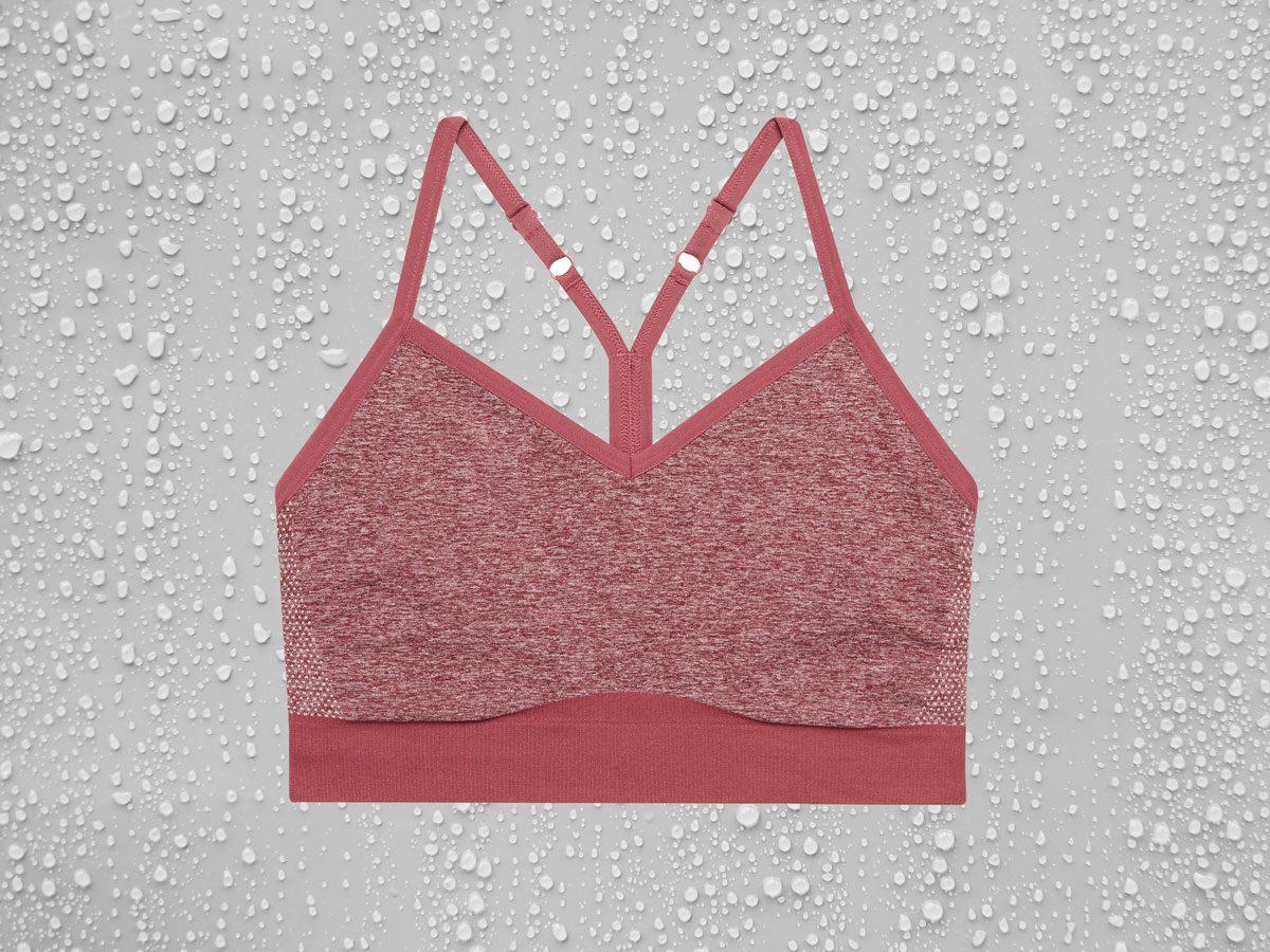 Sweat-Wicking Sports Bras