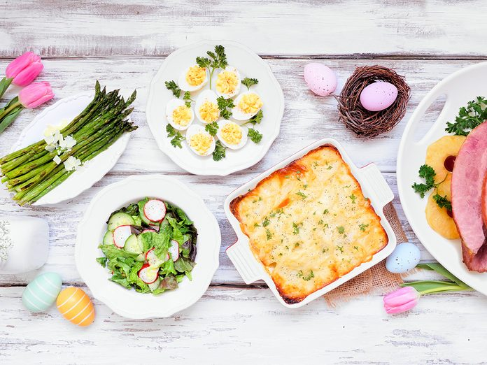 Easter Recipes | easter tablescape