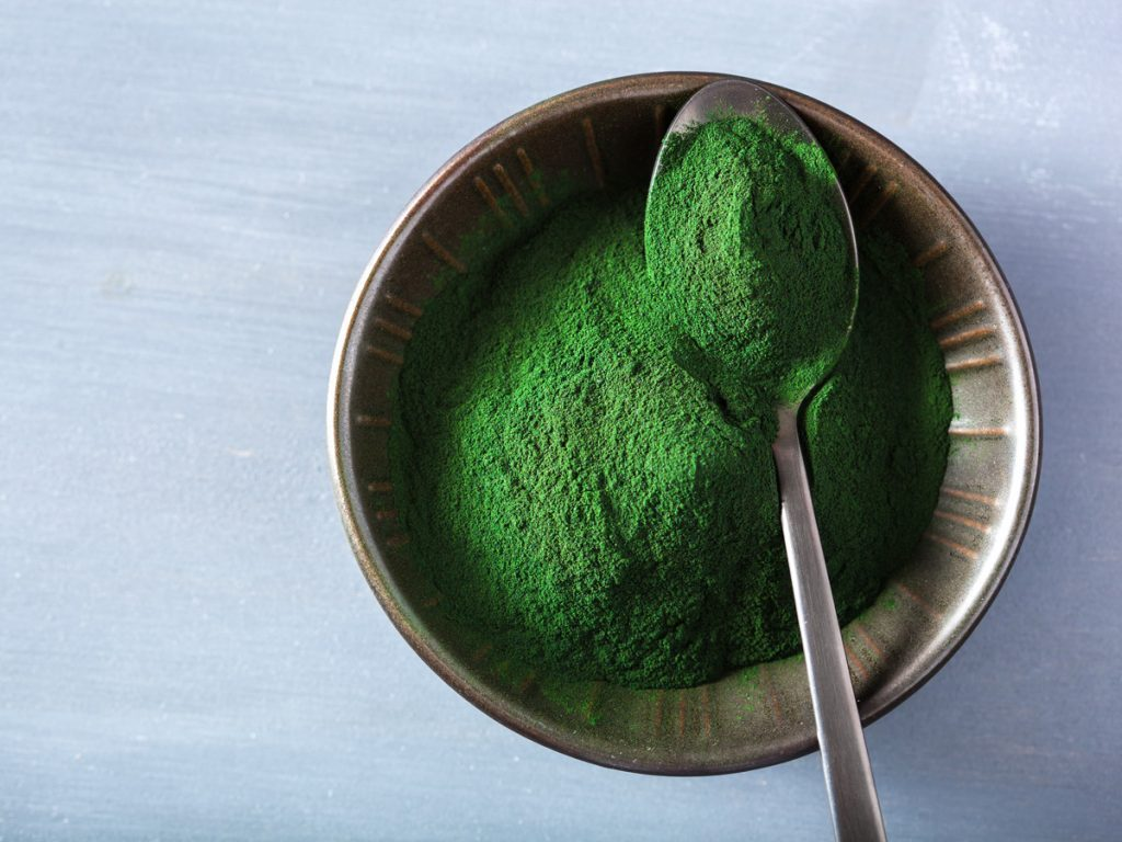 vegan protein sources spirulina powder