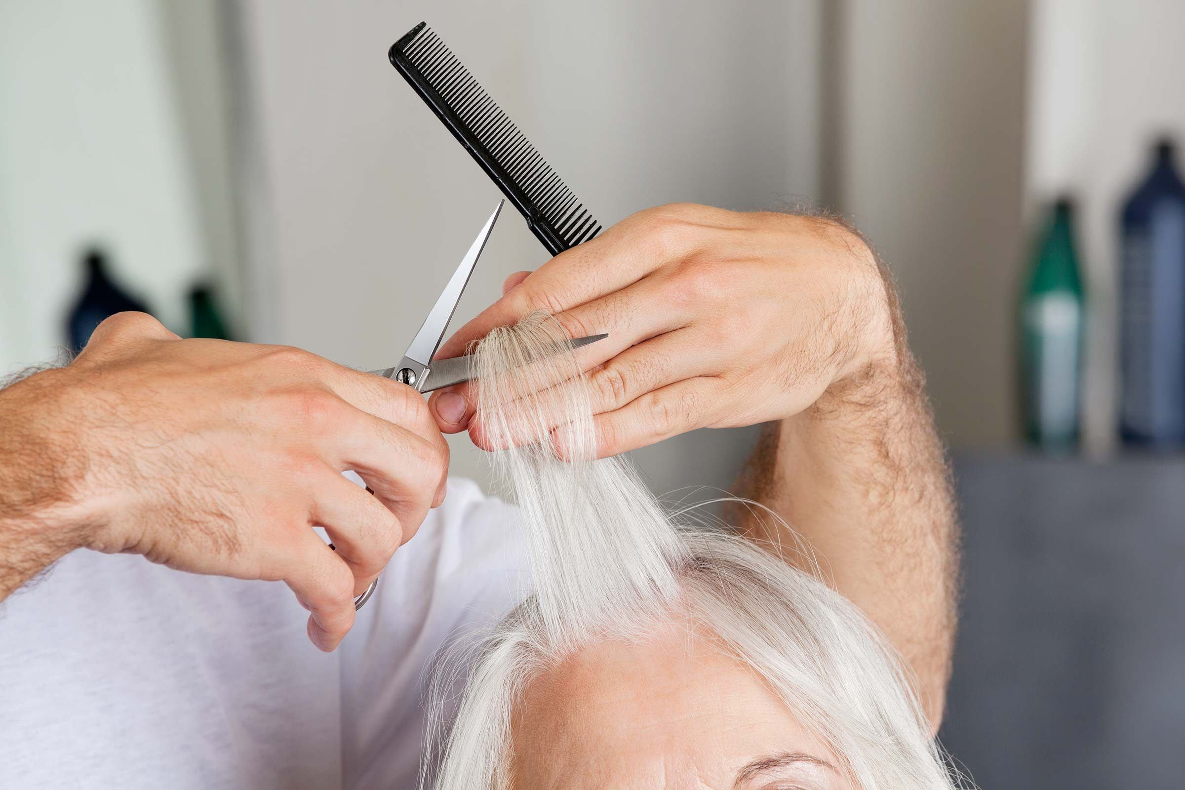 anti-aging hair care