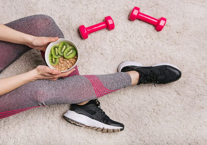 eat before or after exercise