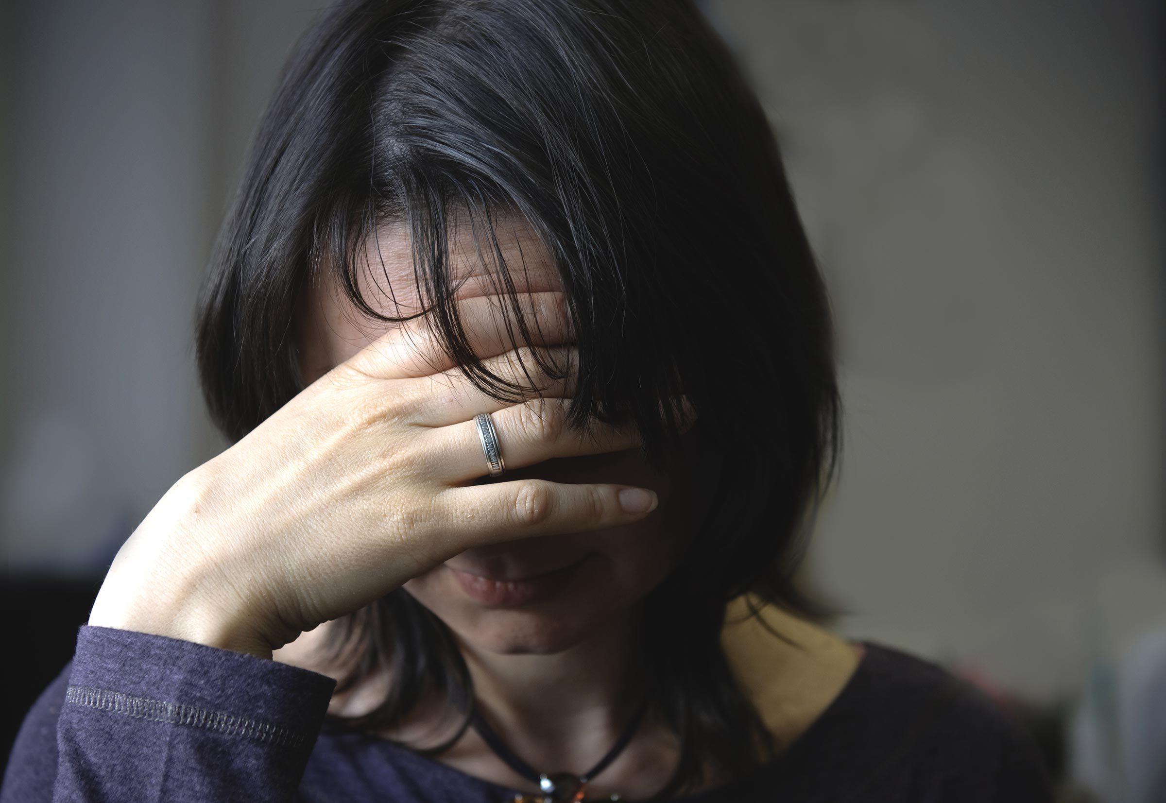 antidepressants | Woman in depression